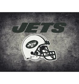 "MILLIKEN New York Jets 46"" x 64"" Distressed Area Rug by Milliken"