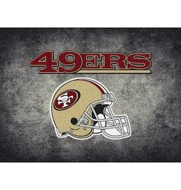 "MILLIKEN San Francisco 49ers 46"" x 64"" Distressed Area Rug by Milliken"