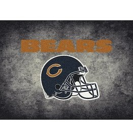 "MILLIKEN Chicago Bears 46"" x 64"" Distressed Area Rug by Milliken"