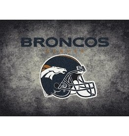 "MILLIKEN Denver Broncos 46"" x 64"" Distressed Area Rug by Milliken"