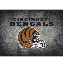 """MILLIKEN Cincinnati Bengals 46"""" x 64"""" Distressed Area Rug by Milliken"""