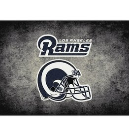 "MILLIKEN Los Angeles Rams 46"" x 64"" Distressed Area Rug by Milliken"