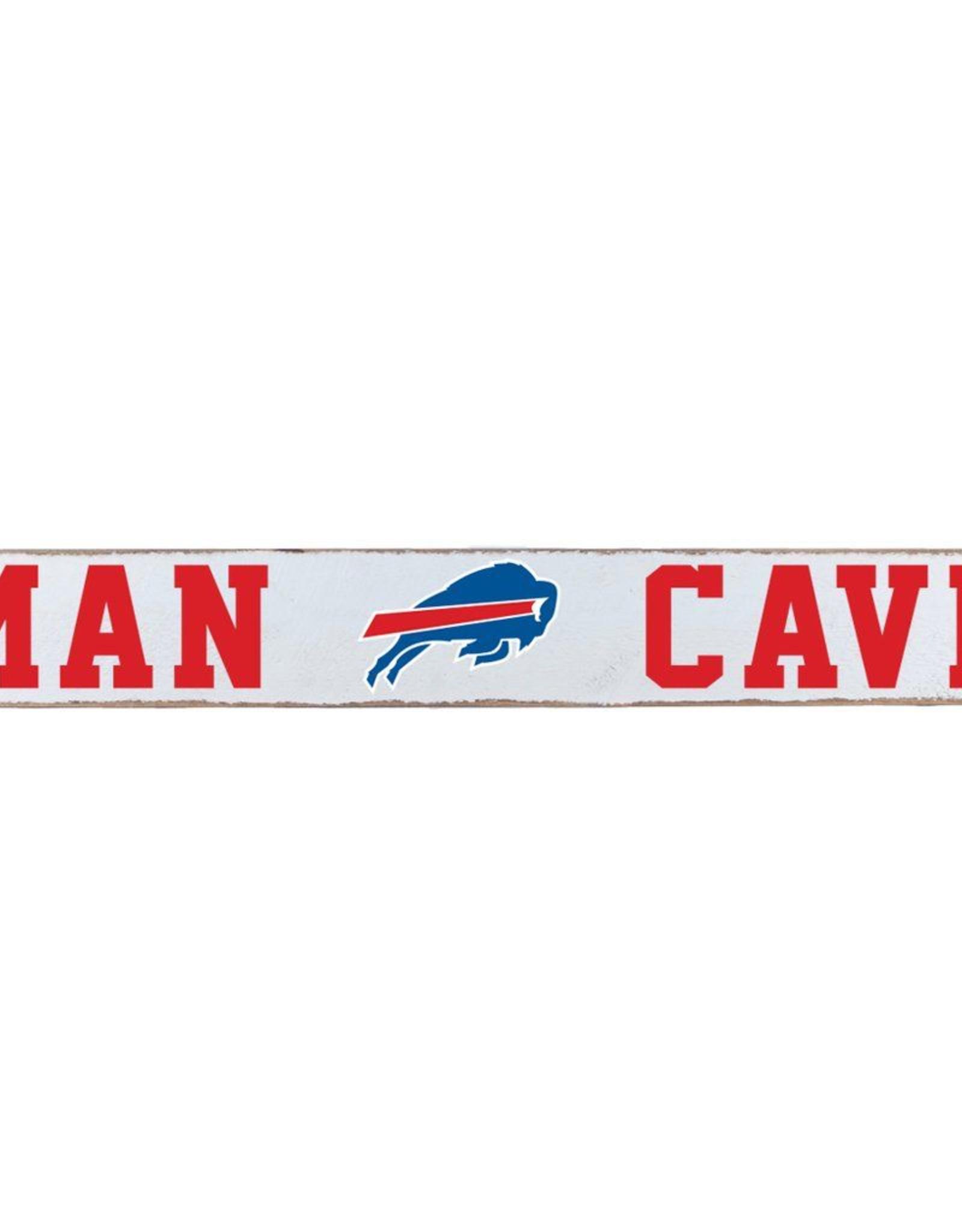 RUSTIC MARLIN Buffalo Bills Rustic Man Cave Sign