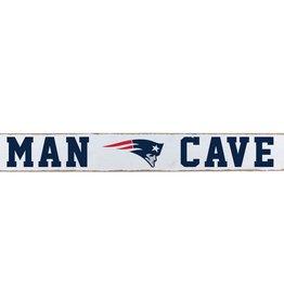 RUSTIC MARLIN New England Patriots Rustic Man Cave Sign