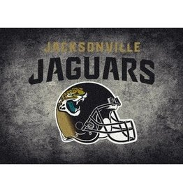"MILLIKEN Jacksonville Jaguars 46"" x 64"" Distressed Area Rug by Milliken"
