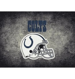 "MILLIKEN Indianapolis Colts 46"" x 64"" Distressed Area Rug by Milliken"