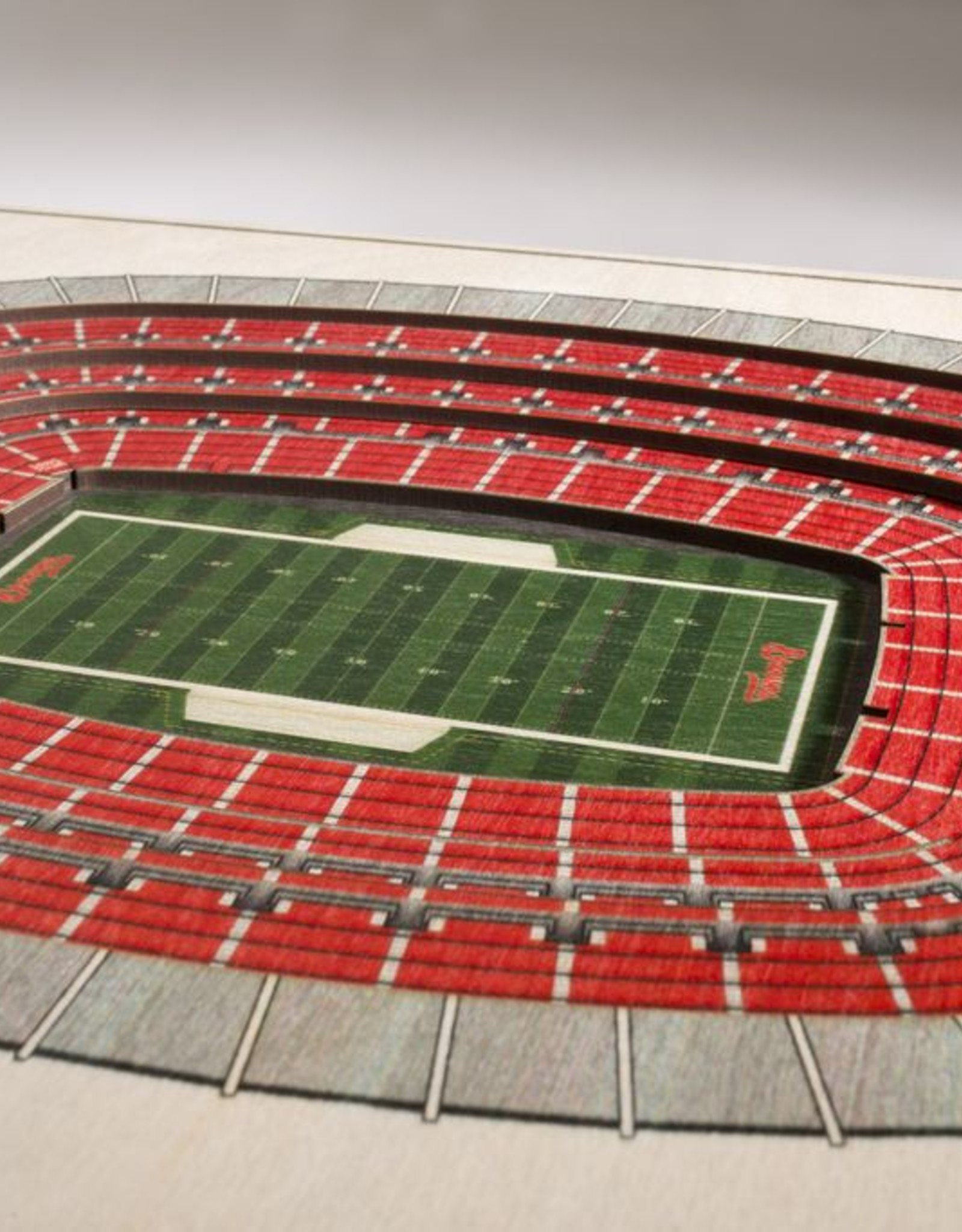 YOU THE FAN Cleveland Browns 5-Layer 3D Stadium Wall Art