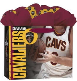 JF TURNER & CO Cleveland Cavaliers Medium GoGo Gift Bag