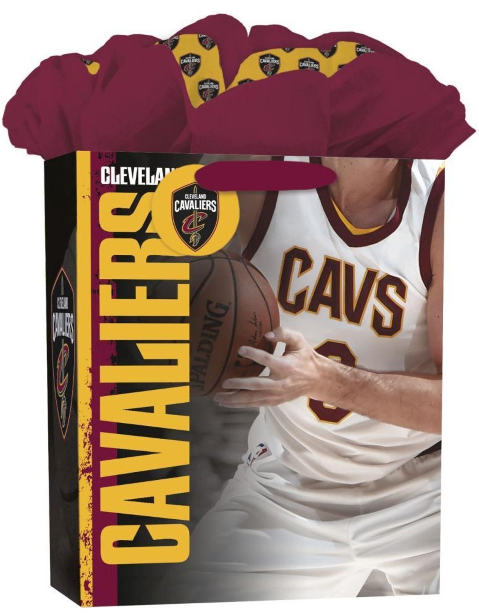 JF TURNER & CO Cleveland Cavaliers Large GoGo Gift Bag