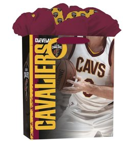 JF TURNER & CO Cleveland Cavaliers Large GoGo Gift Bag
