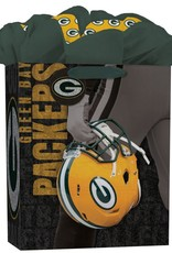 JF TURNER & CO Green Bay Packers Large GoGo Gift Bag