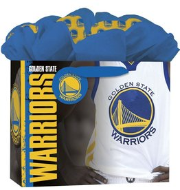 JF TURNER & CO Golden State Warriors Medium GoGo Gift Bag