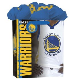 JF TURNER & CO Golden State Warriors Large GoGo Gift Bag