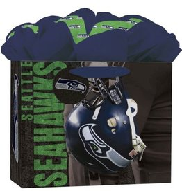 JF TURNER & CO Seattle Seahawks Medium GoGo Gift Bag