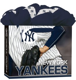 JF TURNER & CO New York Yankees Medium GoGo Gift Bag