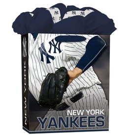 JF TURNER & CO New York Yankees Large GoGo Gift Bag