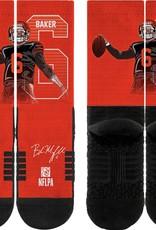 STRIDELINE Cleveland Browns Baker Mayfield Strideline Player Socks