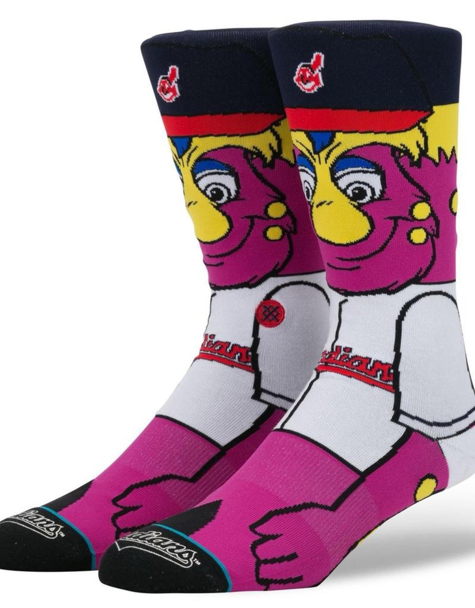 STANCE Cleveland Indians Stance Youth Slider Crew Socks