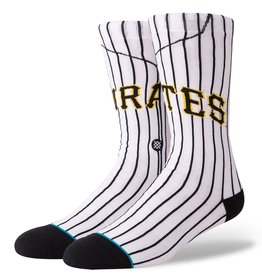 STANCE Pittsburgh Pirates Stance Home Alternate Jersey Crew Socks