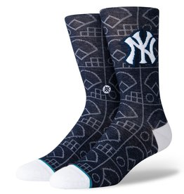 STANCE New York Yankees Stance Scorebook Crew Socks