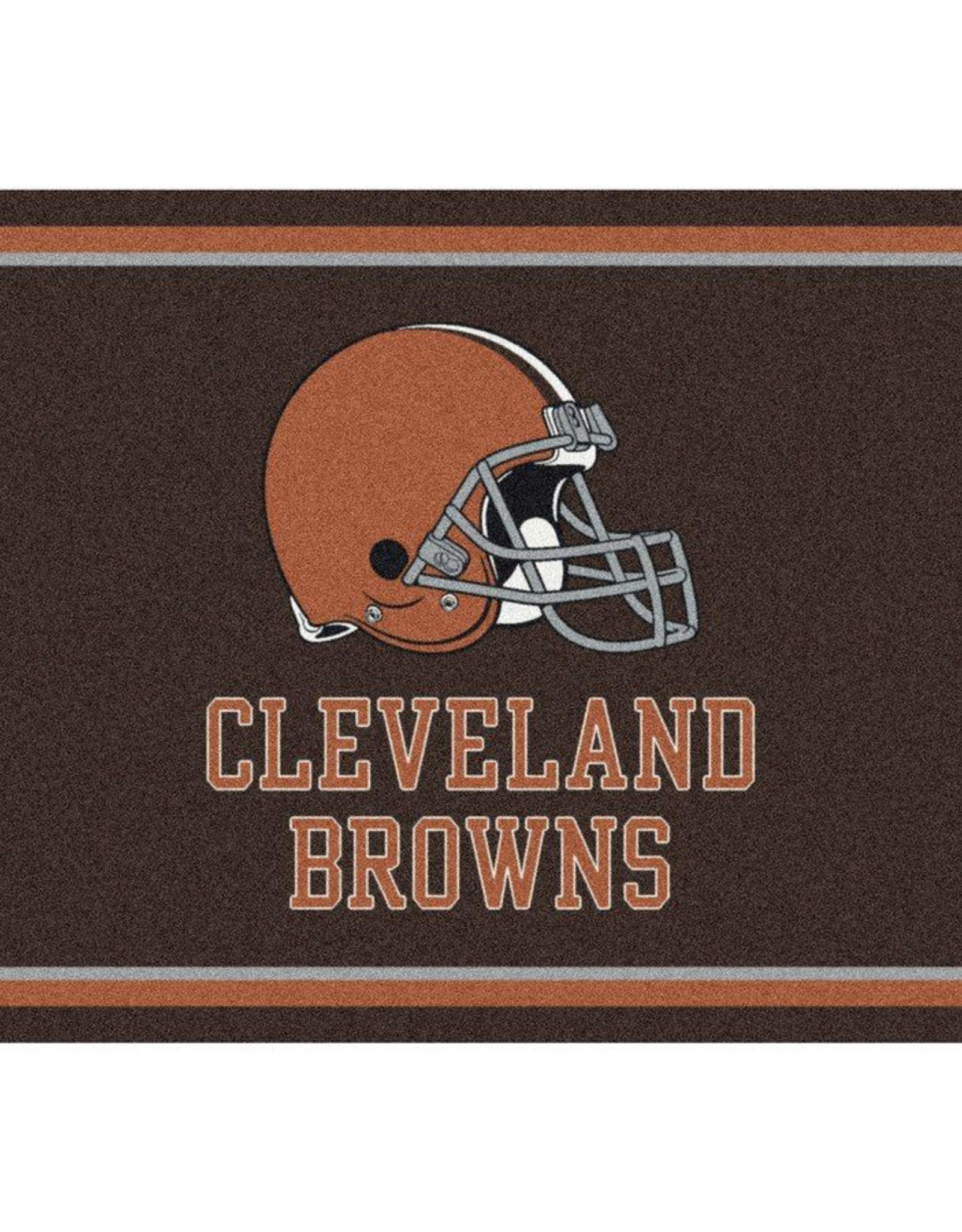 "MILLIKEN Cleveland Browns Milliken 2'8"" x 3'10"" Spirit Rug"
