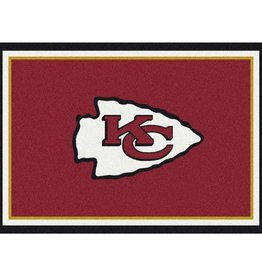 "MILLIKEN Kansas City Chiefs Milliken 2'8"" x 3'10"" Spirit Rug"