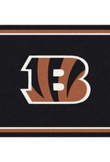 """MILLIKEN Cincinnati Bengals Milliken 2'8"""" x 3'10"""" Spirit Rug"""