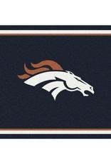 "MILLIKEN Denver Broncos Milliken 2'8"" x 3'10"" Spirit Rug"