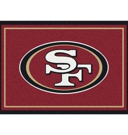 "MILLIKEN San Francisco 49ers Milliken 2'8"" x 3'10"" Spirit Rug"
