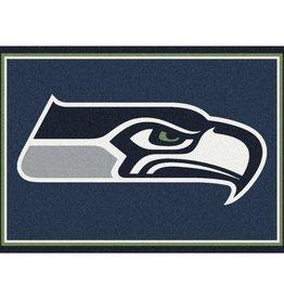 """MILLIKEN Seattle Seahawks Milliken 2'8"""" x 3'10"""" Spirit Rug"""
