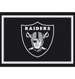 """MILLIKEN Oakland Raiders Milliken 2'8"""" x 3'10"""" Spirit Rug"""