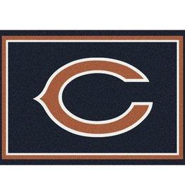"""MILLIKEN Chicago Bears Milliken 2'8"""" x 3'10"""" Spirit Rug"""