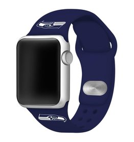 GAMETIME Seattle Seahawks Sport Band Compatible with Apple Watch