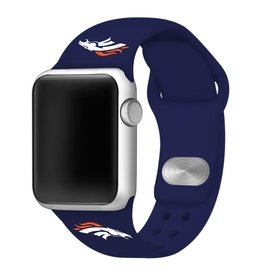 GAMETIME Denver Broncos Sport Band Compatible with Apple Watch
