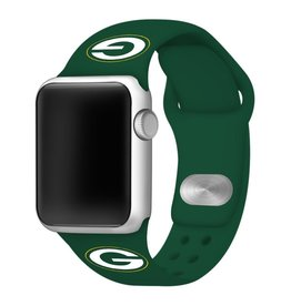 GAMETIME Green Bay Packers Sport Band Compatible with Apple Watch
