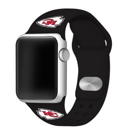GAMETIME Kansas City Chiefs Sport Band Compatible with Apple Watch