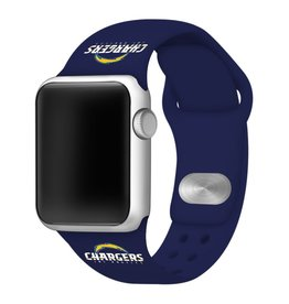 GAMETIME Los Angeles Chargers Sport Band Compatible with Apple Watch