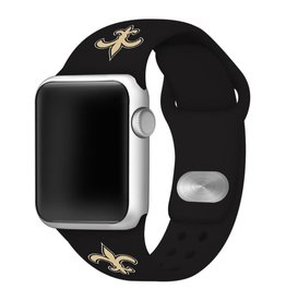 GAMETIME New Orleans Saints Sport Band Compatible with Apple Watch