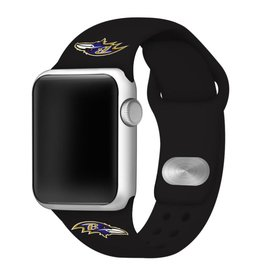 GAMETIME Baltimore Ravens Sport Band Compatible with Apple Watch