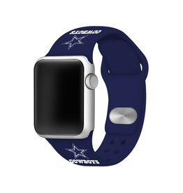 GAMETIME Dallas Cowboys Sport Band Compatible with Apple Watch