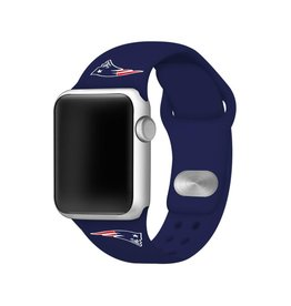 GAMETIME New England Patriots Sport Band Compatible with Apple Watch