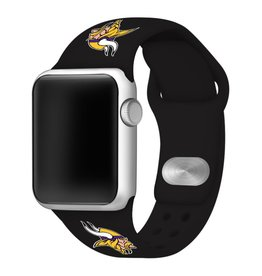 GAMETIME Minnesota Vikings Sport Band Compatible with Apple Watch