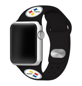 GAMETIME Pittsburgh Steelers Sport Band Compatible with Apple Watch