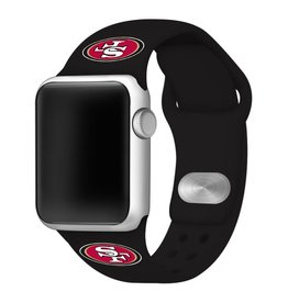 GAMETIME San Francisco 49ers Sport Band Compatible with Apple Watch