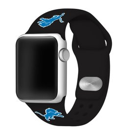 GAMETIME Detroit Lions Sport Band Compatible with Apple Watch