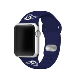 GAMETIME Los Angeles Rams Sport Band Compatible with Apple Watch
