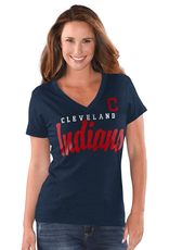 G-III SPORTS Cleveland Indians G-III 4Her by Carl Banks Game Day Tee