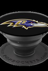 POPSOCKETS LLC Baltimore Ravens PopSockets Cell Phone Holder