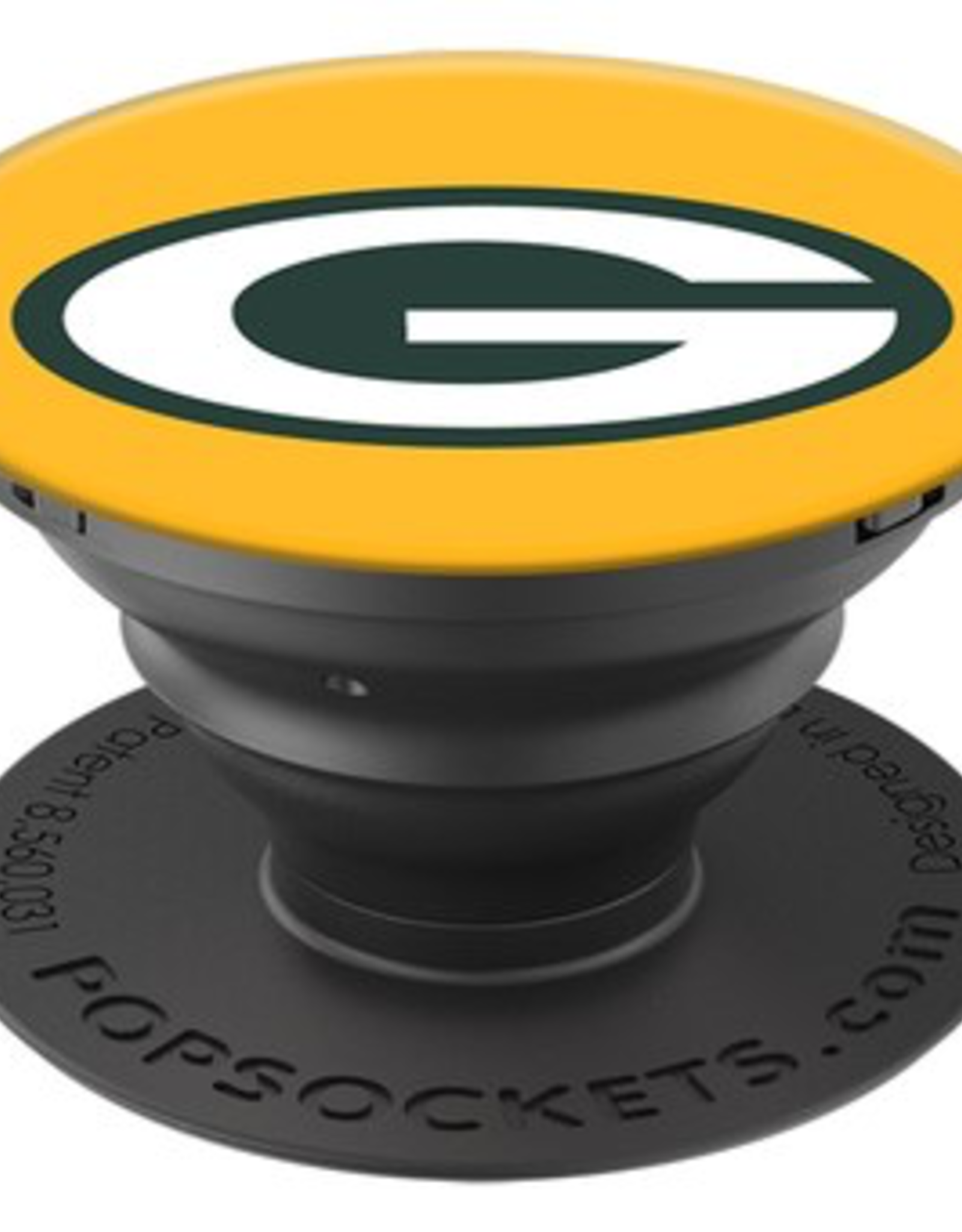 POPSOCKETS LLC Green Bay Packers PopSockets Cell Phone Holder