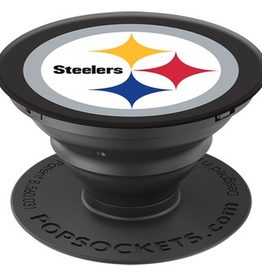 POPSOCKETS LLC Pittsburgh Steelers PopSockets Cell Phone Holder